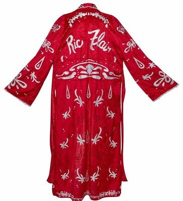 WWE Ric Flair Adult Collectible Robe Classic Superstars Full Size Prop Replica