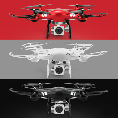 RC Quadcopter 1080P Wide Angle Lens 270 Degree Rotating HD Camera Drone FPV Gift