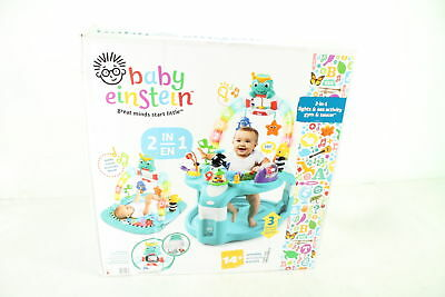 Baby Einstein 2 in 1 Lights Sea Activity Gym Saucer 3 positions connect phone