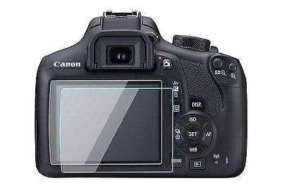2X Canon EOS T6 T5 Camera Screen Protector Tempered Glass for Canon 1300D 1200D