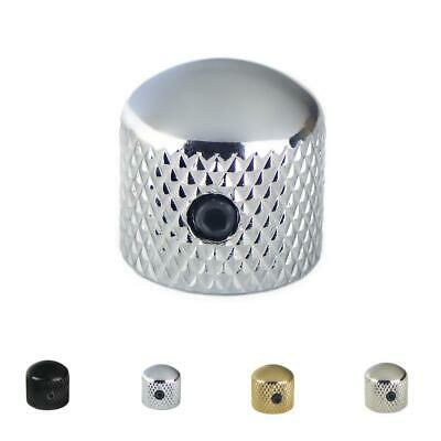 Dome Top Metal Volume/Tonel knob For Telecaster Stratocaster Electric Guitar