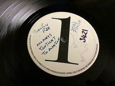 "Simply Red Moneys Too Tight Cutback Mix Uk 12"" Vinyl White Label From Collection"