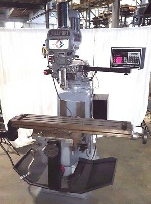 Proto Trak 2 Axis CNC Milling Machine 42 inch table Mill Miller Power Draw Bar