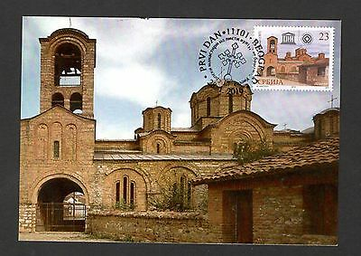 SERBIA-KOSOVO-MC-SERBIAN MONASTERIES LISTED AS CULTURAL HERITAGE by UNESCO-2016