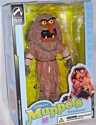"MUPPETS Show Palisades Exclusive SWEETUMS Deluxe 10"" Action Figure MIB MOVIE"
