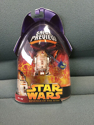 STAR WARS Revenge of the Sith R4-G9 Sneak Preview Action Figure Hasbro 2005 MOC