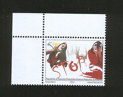 Kosovo-Mnh** Stamp-Stop The Violence-2010.