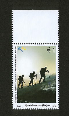 Kosovo-Mnh** Stamp-Mountaineering-2014.