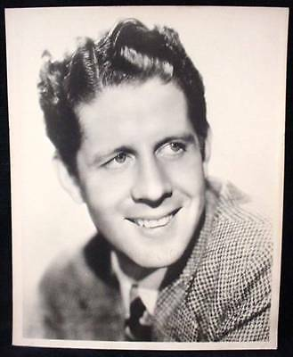 Rudy Vallée Signed Photo US Singer Actor Bandleader #2