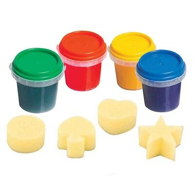Imaginarium Creations Finger Paint - 4 Pack