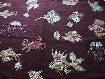 Nina Campbell Fabric Tokelau - Osborne & Little - Amethyst