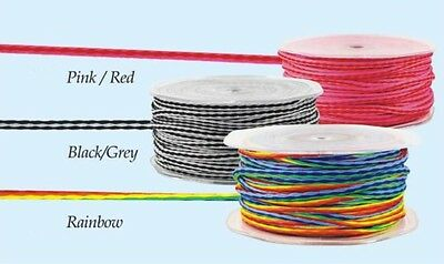 3mm Multicoloured Cord