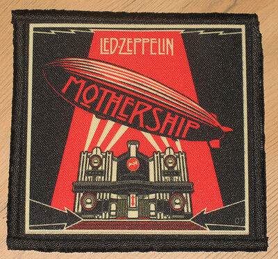 "LED ZEPPELIN ""MOTHERSHIP"" silk screen PATCH"