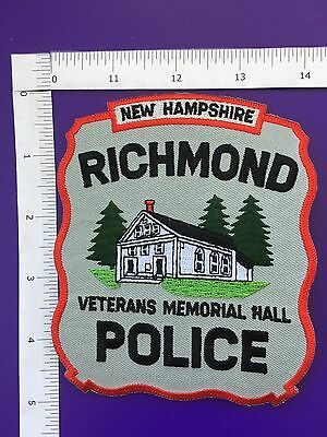 Richmond  New Hampshire Police Shoulder Patch