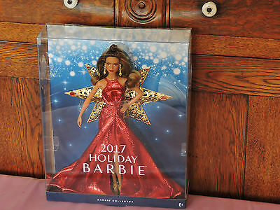 2017 Holiday Christmas Doll IN STOCK  Barbie Doll-- DYX41-(Latina)-Teresa