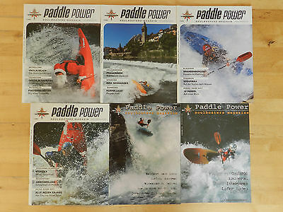 6 x Paddle Power Soulboaters Magazine Zeitschrift Hefte
