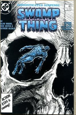 Swamp Thing #56-1987 nm- Swamp Thing in Space  Rick Veitch Alan Moore