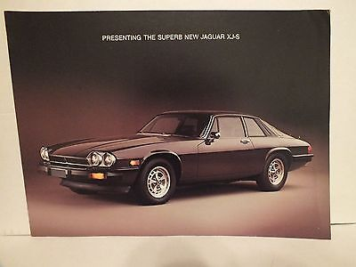 1976 Jaguar Xj-S Sales Brochure, Original