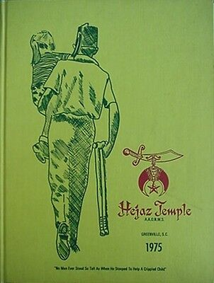 1975 Hejaz Temple Yearbook (Greenville South Carolina Shriners