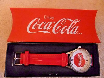 Coca-Cola Christmas Bear Watch by Avon new in box Collectible