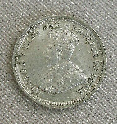 1932 HONG KONG George V King & Emperor of India 5 Cents 5¢ COIN;E165