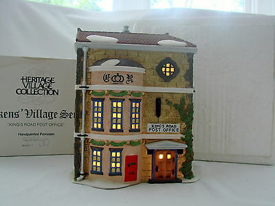 Dept. 56 Dickens Village Series Heritage Village Kings Road Post Office 58017