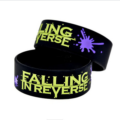 Falling in Reverse rock band Silicone Rubber Wristband bracelet jewelry gift 1pc