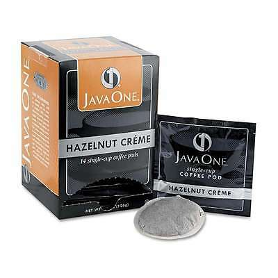 Java One® Coffee Pods, Hazelnut Creme, Single Cup, 14/Box 766047705000