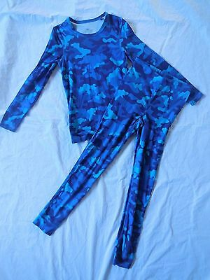 CRANE SNOW EXTREME BOYS SZ 10 THERMAL UNDERWEAR TOP and PANTS 2 PIECES