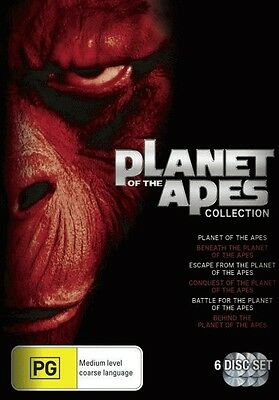 Planet Of The Apes Box Set = NEW DVD R4
