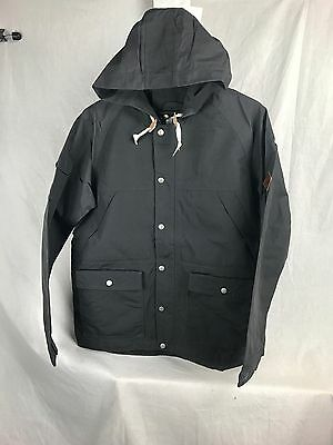 New Woolrich Waxed Heritage Jacket Asphalt Xl Xlarge Mens Dwr Shell Lined 16184