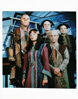 OFFICIAL WEBSITE Babylon 5 Cast & Crew Photo 8x10 Glossy UNSIGNED
