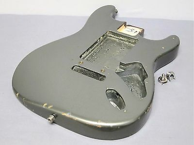 1989 Fender Strat Plus USA Stratocaster BODY Pewter 80s American Electric Guitar