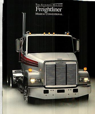 1985-86 Freightliner Medium Conventional Truck Deluxe Color Sales Catalog