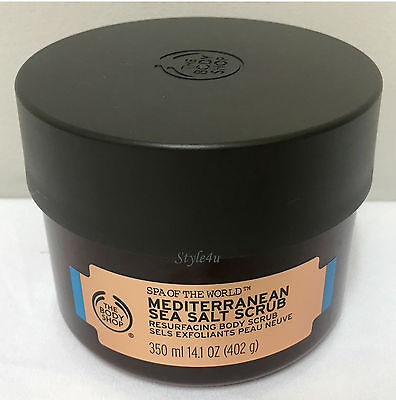 The Body Shop Mediterranean Sea Salt Scrub 350ml RRP £22 Bargain Buy