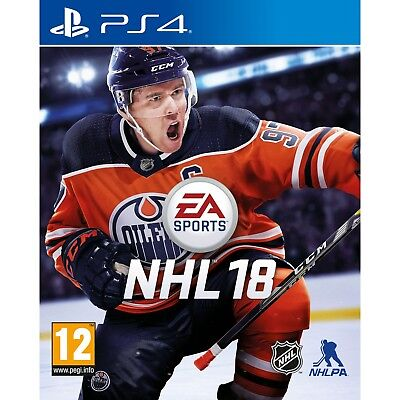 NHL 18 PS4 Game - Brand New!