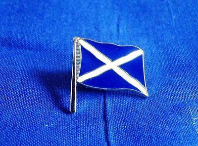 St Andrew's Cross Flag Lapel Pin