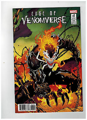 EDGE OF VENOMVERSE #3  1st Printing - Ron Lim Variant Cover / 2017 Marvel Comics
