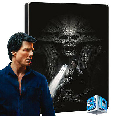 The Mummy (2017) Blu-ray (2Disc: 3D+2D) STEELBOOK, Limited Edition - Tom Cruise