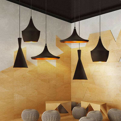 Modern Industrial Chandeliers Hanging Ceiling Light Pendant Lamp Shade Fixture
