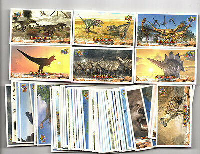 53 count lot 2015 Dinosaurs Mini Canvas insert lot 43 different! MUST SEE!