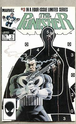 Punisher #3-1986 vg 3rd issue of the 1st series Mike Zeck / Steven Grant