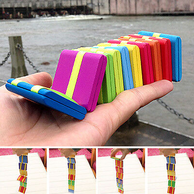 Child Colorful Magic Wooden Flap Game Flip Board Blocks Educational Toys