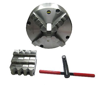 Rdg Tools 250Mm 4 Jaw Self Centering Lathe Chuck D6 Camlock Fitting Colchester