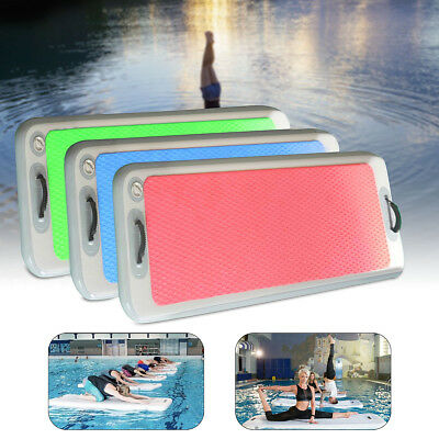 Inflatable Floating Yoga Mat Air Tracks Tumbling For Gymnastics SUP Paddle Board
