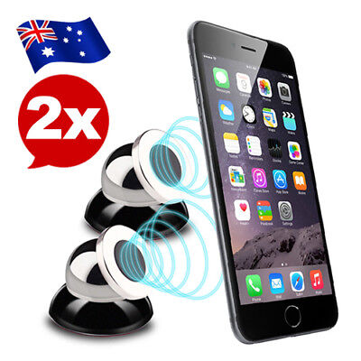2X Universal Steelie Magnetic Ball Mount Car Mount For iPhone 7 6 Samsung GPS