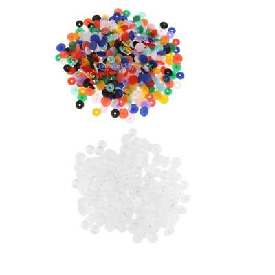 150 Set Mixed Resin Snaps/Rivets/Poppers/Fasteners Press Studs Size T5 Caps