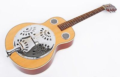 Cherrystone MPM Resonator Guitar 6 Strings Arched Back Wood Body Acoustic