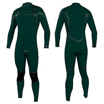 O'Neill Psycho One 5/4mm Chest Zip TB3 Wetsuit 2018 - Green