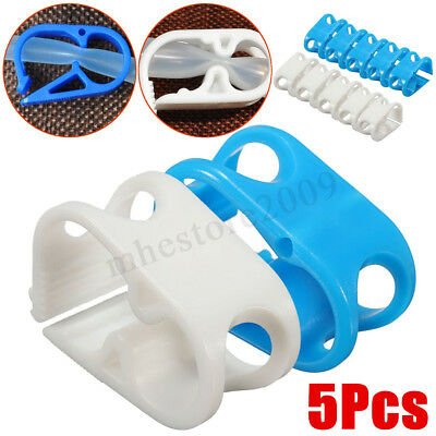5/10/20Pcs Pinch Clamp Siphon Hose Flow Control Valve Tube Shut Off Enema Beer